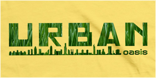 Urban Oasis T-Shirt by Matt Simner